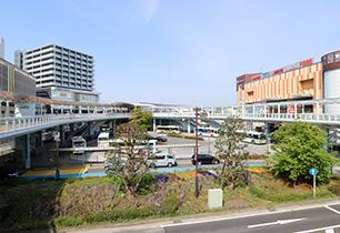 海老名駅東口周辺
