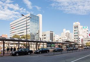 平塚駅前ロータリー