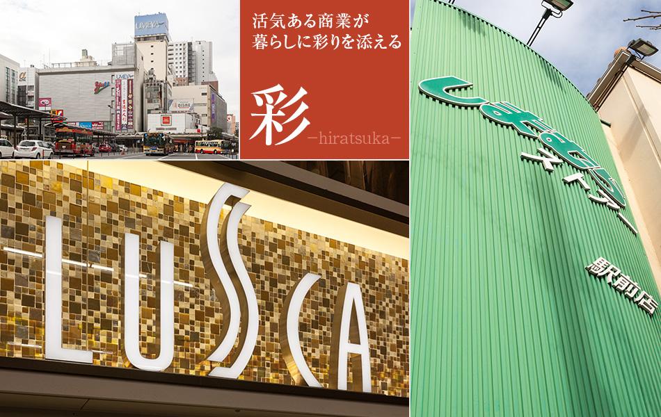 活気にあふれる平塚の商業施設