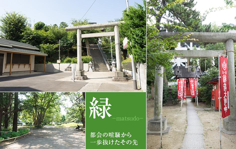 松戸の緑あふれる環境