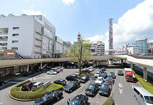 水戸駅前ロータリー