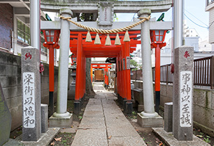 倉屋敷稲荷神社