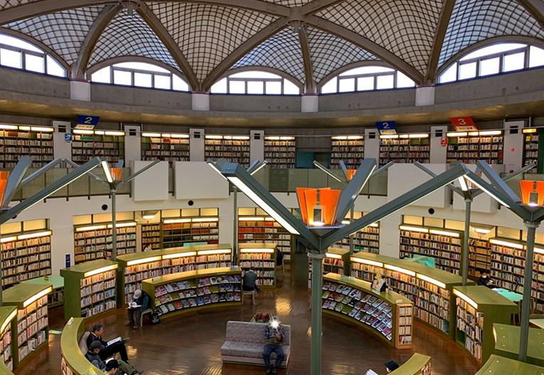 水戸市立西部図書館